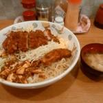 ランラン - BIG丼(とんかつ)大盛り