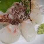 寿司処 江戸金 - 鯛のお造り