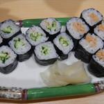 寿司処 江戸金 - かっぱ巻き&納豆巻き