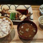 きょうや食堂 - メバルの煮付け定食1500円