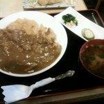 とんかつ一里塚 - カツカレーライス・¥850