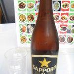 珉珉 - ビンビール大 450円
