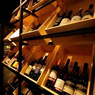 【ボトルワイン】世界各国の種類を豊富に取り扱ってます!