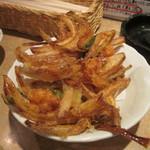 恵美寿屋 - 小海老と三つ葉のかき揚げ