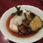 恵美寿屋 - 茄子と餅の揚げだし