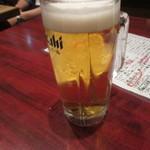 恵美寿屋 - ビールで乾杯~