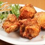 麺場居酒屋 ラの壱 - 鶏の唐揚げ