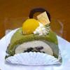 パティスリーオダ - 料理写真:抹茶ロールが2週間前より豪華になっていた。
