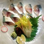 季節料理 日和 - 料理写真:岬鯖のきずし