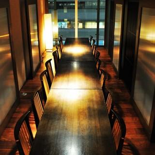 ご接待や会食に最適なコースや夜景個室をご用意