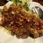錦華楼 - 油淋鶏