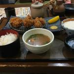 もくもく - 料理写真:2016.6. ヒレとろろ定食