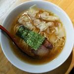 支那そば なかじま - ワンタン麺醤油