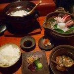 粋魚 むらばやし - 刺身定食1050円