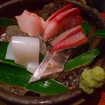 粋魚 むらばやし - 定食の刺身