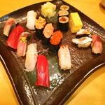 阿部寿司 - 大盛 (*´ω`*)モリモリ ランチ❤