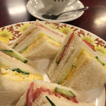 コーヒー専門店 ライオン - サンドイッチ