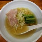 麺屋 一徳 - 塩らーめん700円