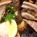 魚匠 銀平 - 『なんとかヒラメの塩焼き1/2』※正式名も値段も失念w