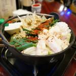 食い道楽 - モツ鍋