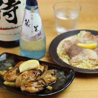 広島名物!ぷりぷり牡蠣とコウネ
