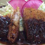 みかわ屋 - 味噌かつ450円