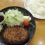 ブリヂストンクラブ - 料理写真:和風おろしハンバーグ