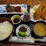 どんぶりや 風とり - 風とり定食(1,050円)