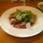四恵菜 - 熊本から直送の馬肉を使用したカルパッチョ