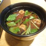 魚こばやし - 赤出汁