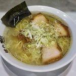 麺や 極 - 極(らーめん 700円)