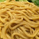 むぎとオリーブ 銀座店 - 麺アップ