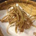 蕎麦Diningすが - 「穴子骨せんべい」 350円