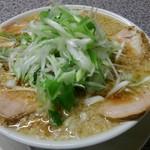 すすり家 - チャーシュー麺 太麺 大油 ネギトッピング