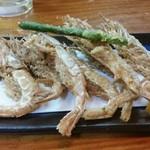 銀河食堂 - がさえび天ぷら