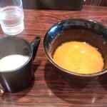 北海道ラーメンひむろ  - スープ割り