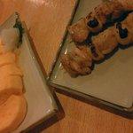 5235424 - 厚焼き玉子&スタミナ(にんにく間)焼鳥