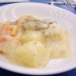 タカノフルーツバー - 北海道フェアということで、子羊のクリーム煮。