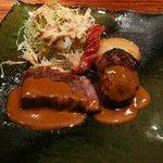 義 - 黒毛和牛ステーキ&ハンバーグ