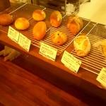 52350814 - 店内のパン