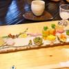 うつわ料理 さ乃 - 料理写真:ひな祭り前菜