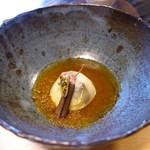 うつわ料理 さ乃 - 湯葉の豚肉包み