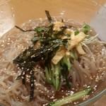 十号ホルモン - 冷麺