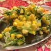 Mai mai - 料理写真:とうもろこしとパクチーのかき揚げ