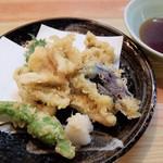 もりもと - 穴子の天ぷら