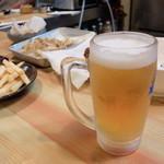 もりもと - 生ビール