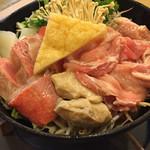 本格ちゃんこ鍋と日本料理 泰力 - 料理写真:味噌ちゃんこ@1980円  金目が4切れも!このボリュームで一人前(≧∇≦)✨