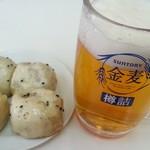 52354756 - 小龍包とビール