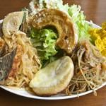 カメイノ食堂 - 900円『おそうざいとデザート』2016年6月吉日