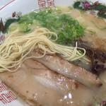きざん亭 - 麺はこんな感じ